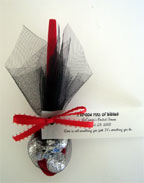 Hershey Kiss Wedding Favor